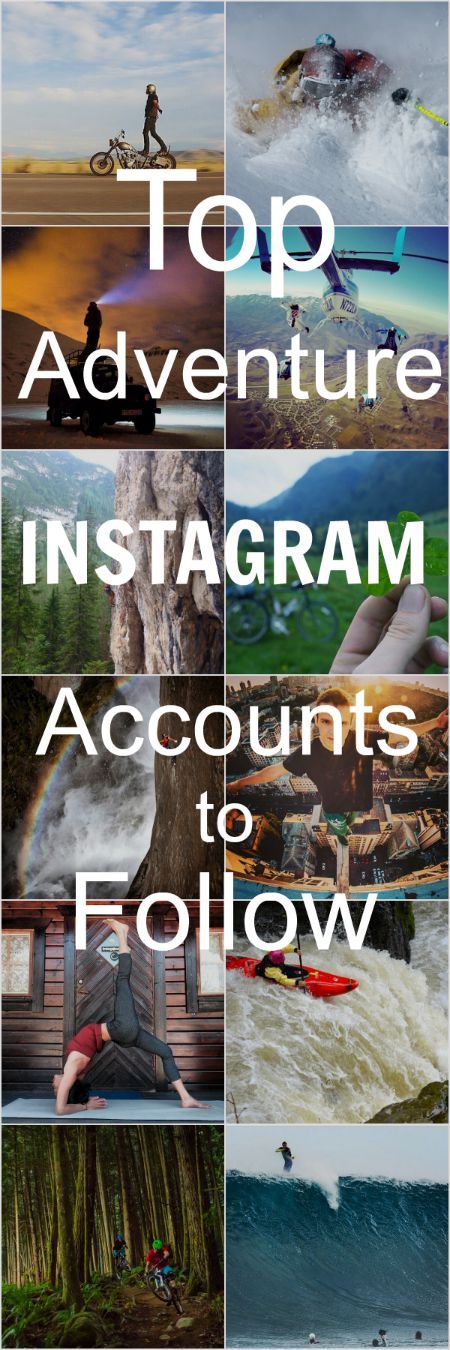 Top Adventure Instagram Accounts