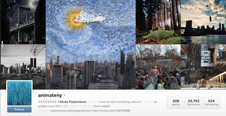 Instagram: @animateny