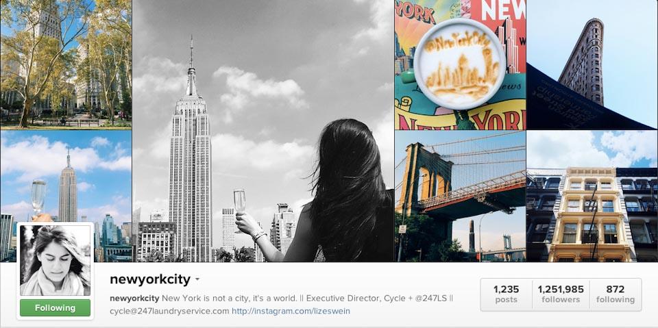 Instagram: @newyorkcity