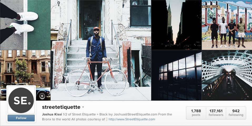 Instagram: @streetetiquette