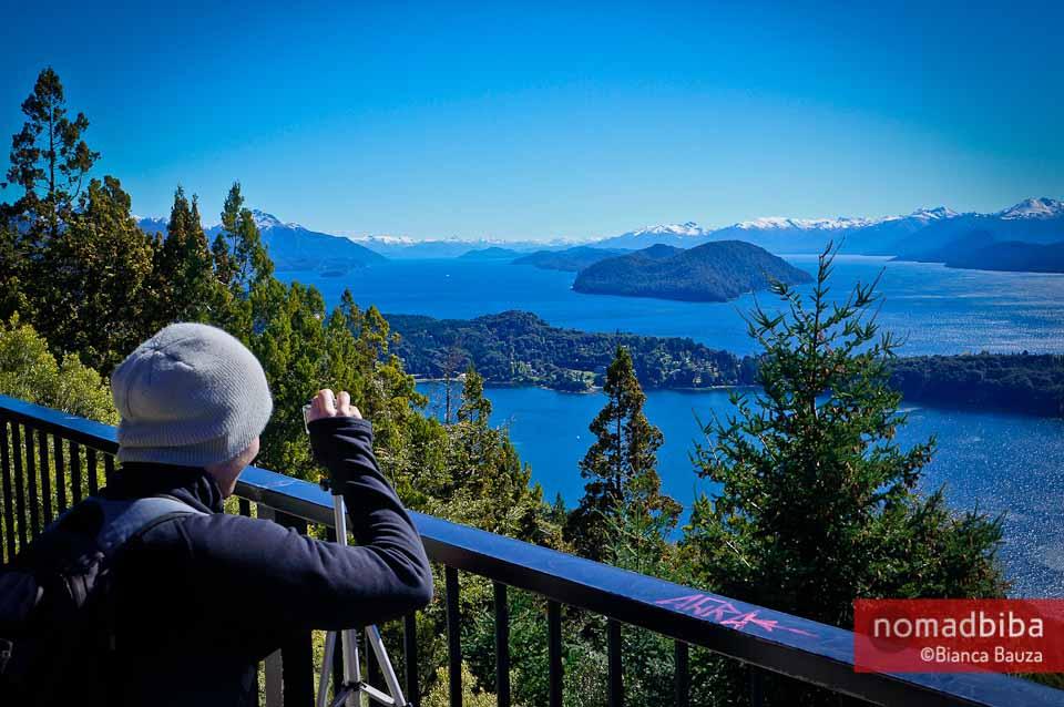 Views from Cerro Campanario near Bariloche, Argentina