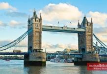 The Tower Bridge in London, UK