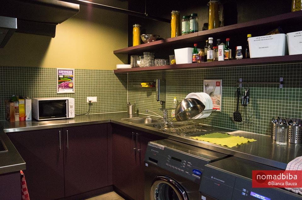 Kitchen at MEININGER Hotel Amsterdam