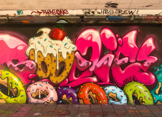 Mural by Boogies at Step in the Arena 2015 in Eindhoven, Netherl