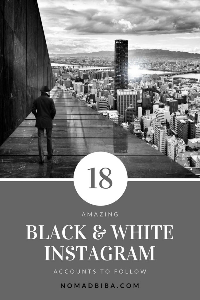 18 black white instagram accounts to follow