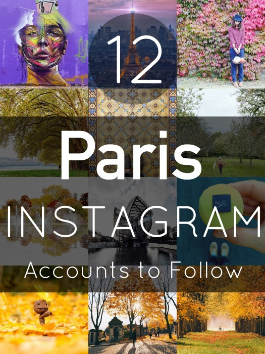 Top Paris Instagram Accounts