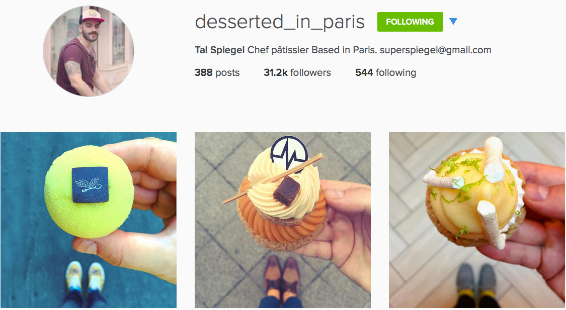 Instagram: @desserted_in_paris