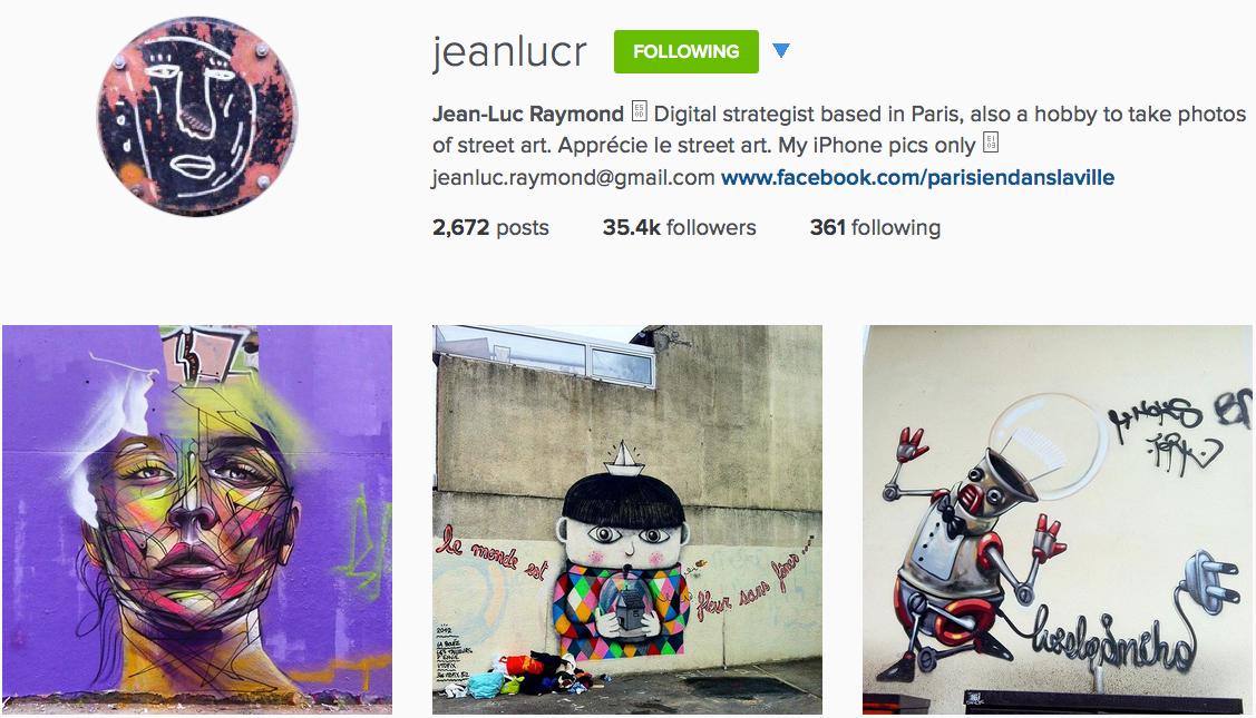 Instagram: @jeanlucr