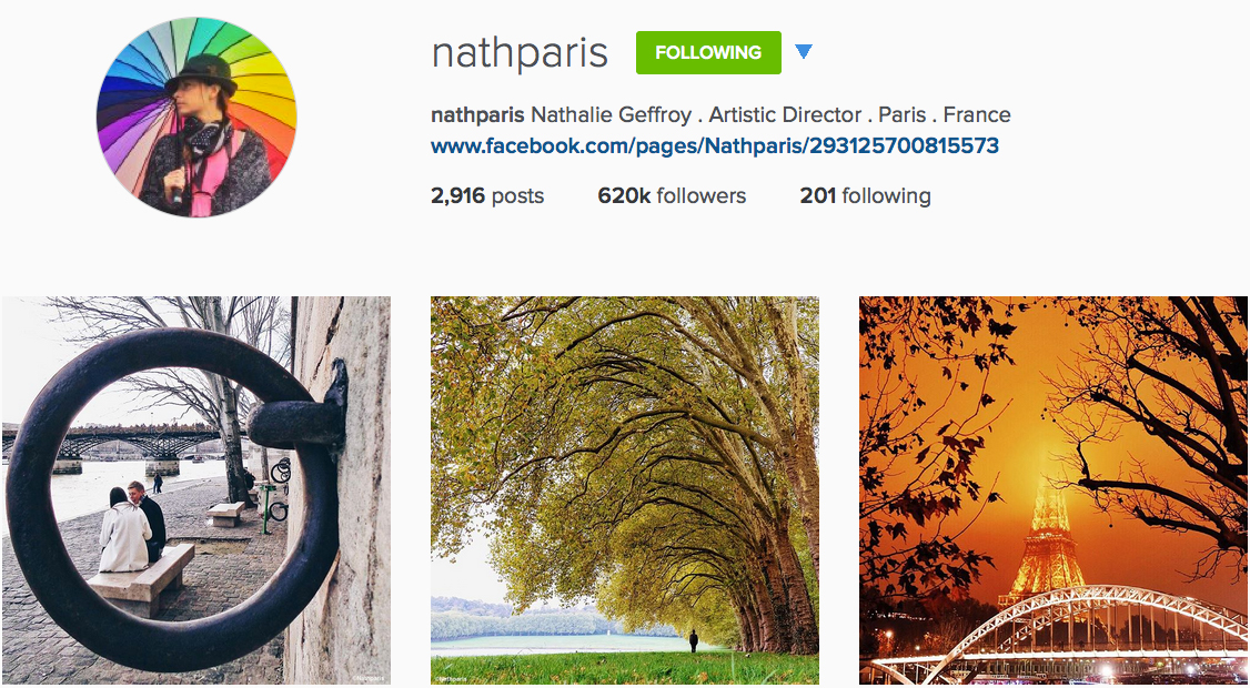 Instagram: @nathparis