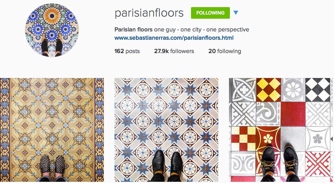 Instagram: @parisianfloors