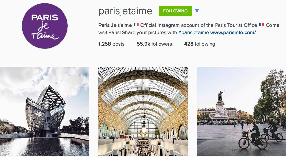 Instagram: @parisjetaime