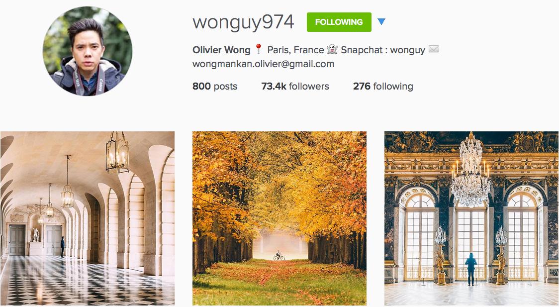 Instagram: @wonguy974