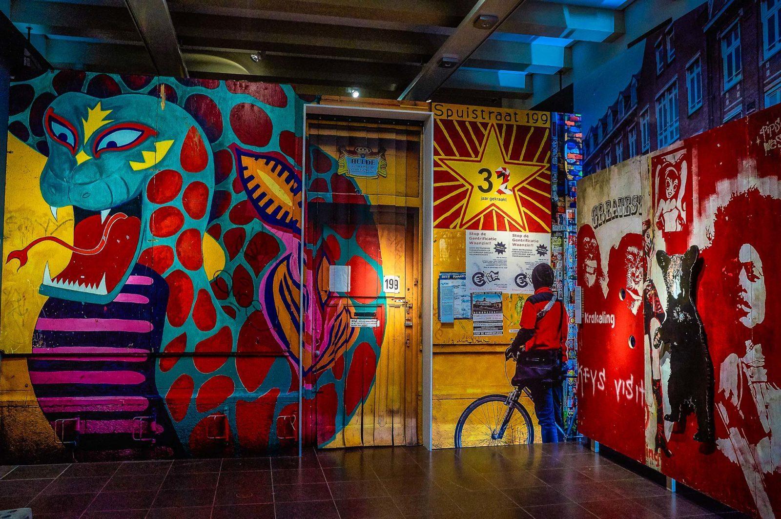 Graffiti New York Meets The Dam At The Amsterdam Museum