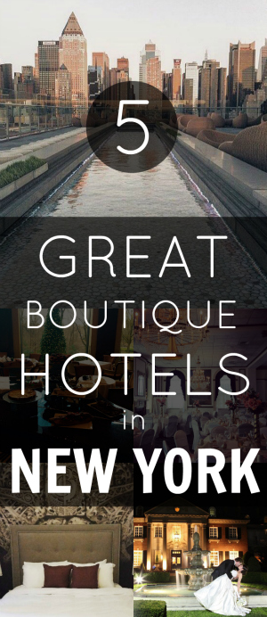 Pin Boutique Hotels in New York
