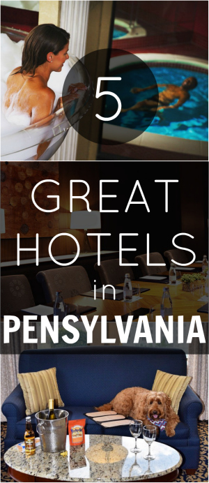 Pin Places to Stay in Pensylvania