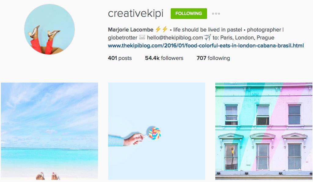 Instagram: @creativekipi