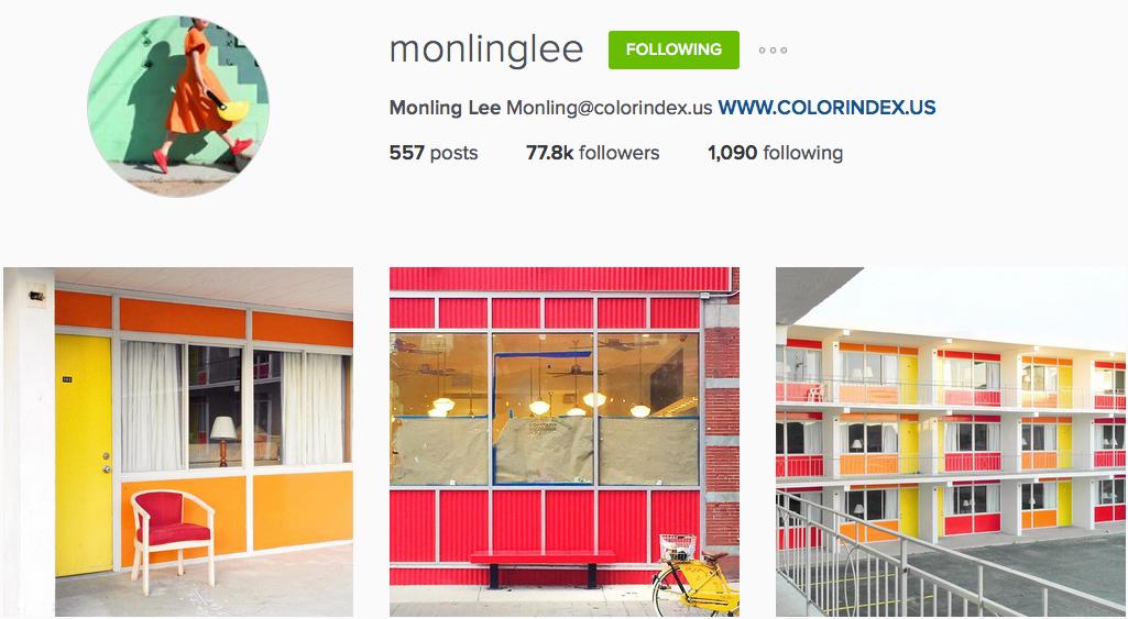 Instagram: @monlinglee