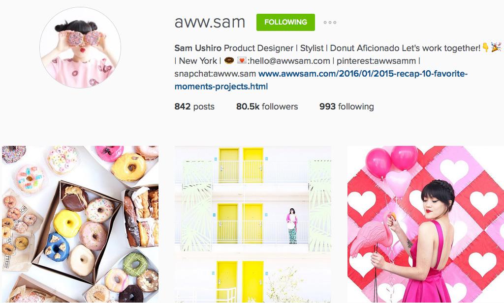 Instagram: @aww.sam