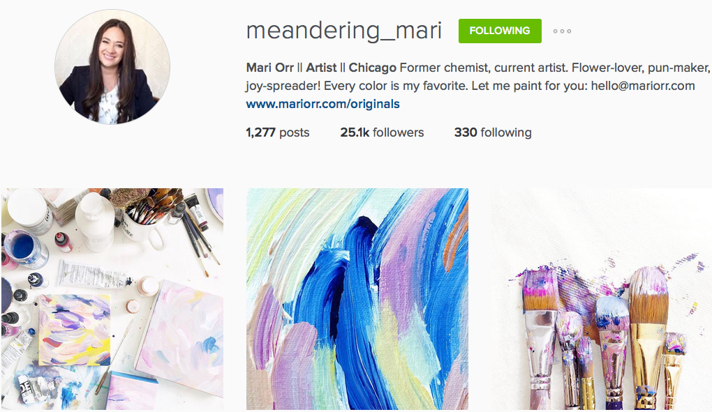 Instagram: @meandering_mari