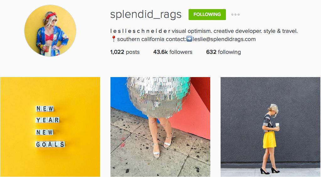 Instagram: @splendid_rags