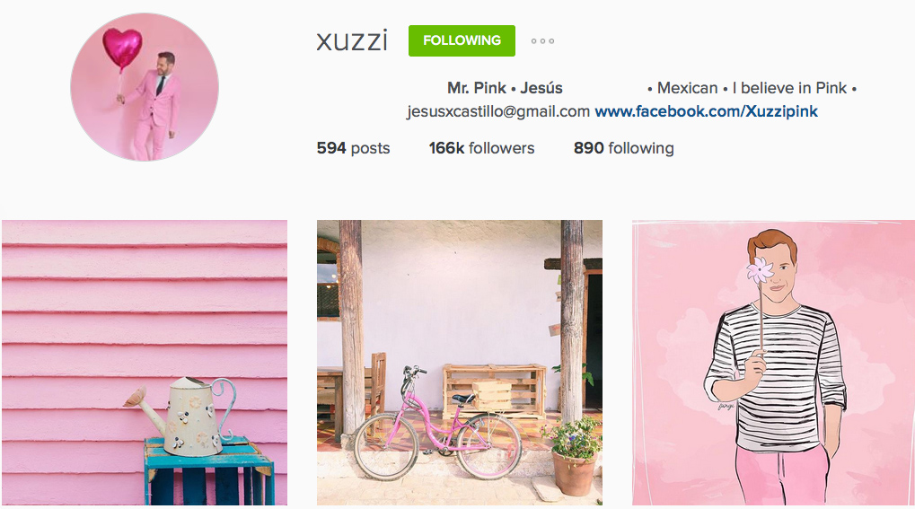 Instagram: @xuzzi