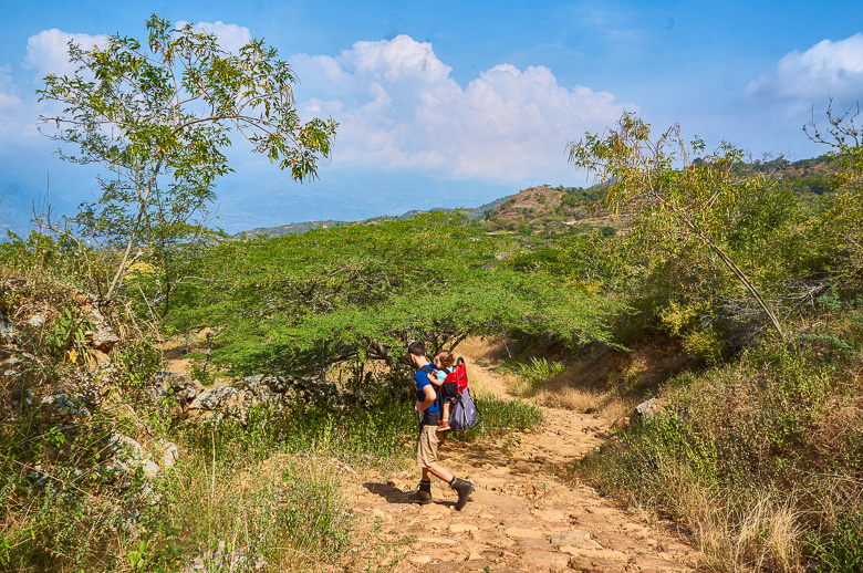 Hiking the Barichara to Guane trail in Colombia