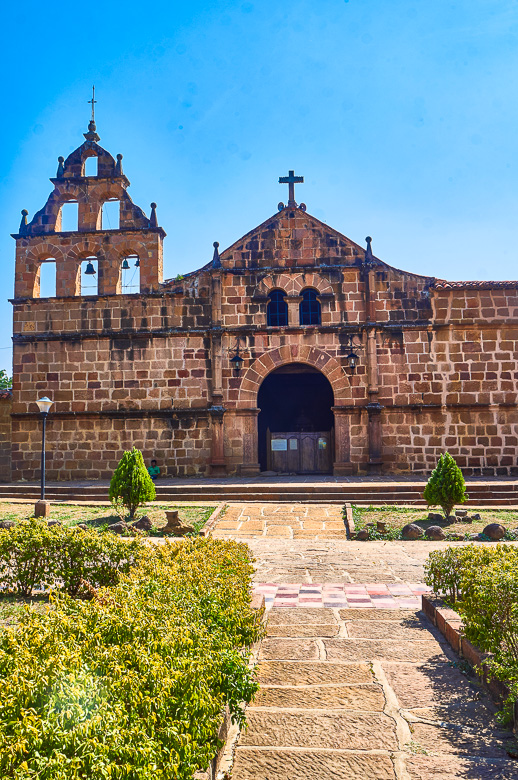 Church in Guane, Colombia