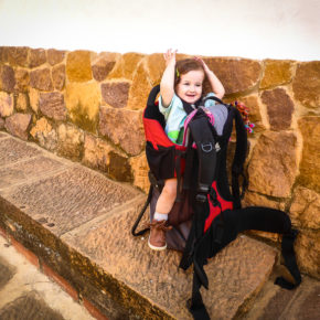 Ready to hike the Barichara to Guane trail in Colombia