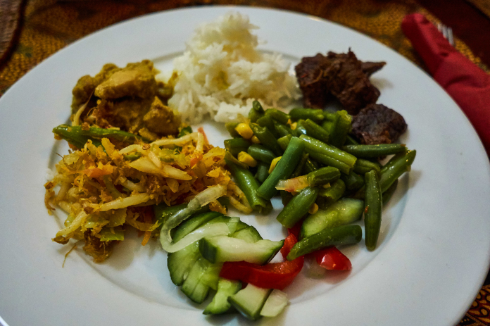 Indonesian food at the Twilight De Pijp Food Tour in Amsterdam