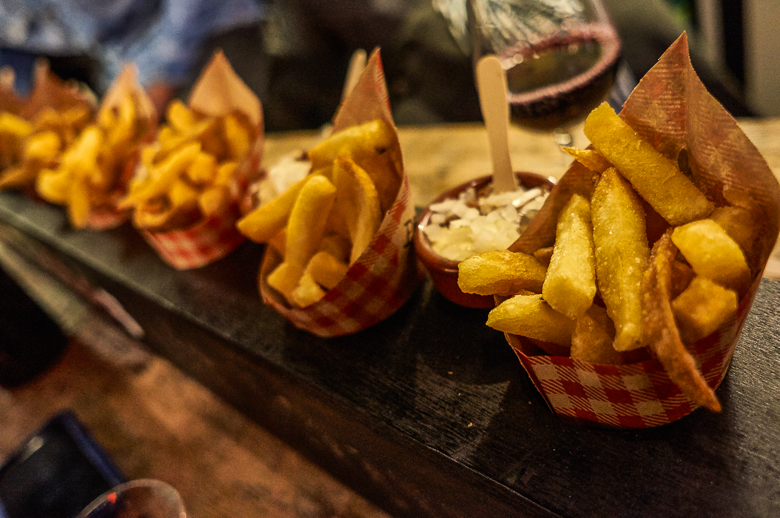 Fries at the Twilight De Pijp Food Tour in Amsterdam