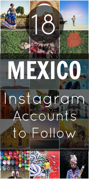 Pin Mexico Instagram Accounts