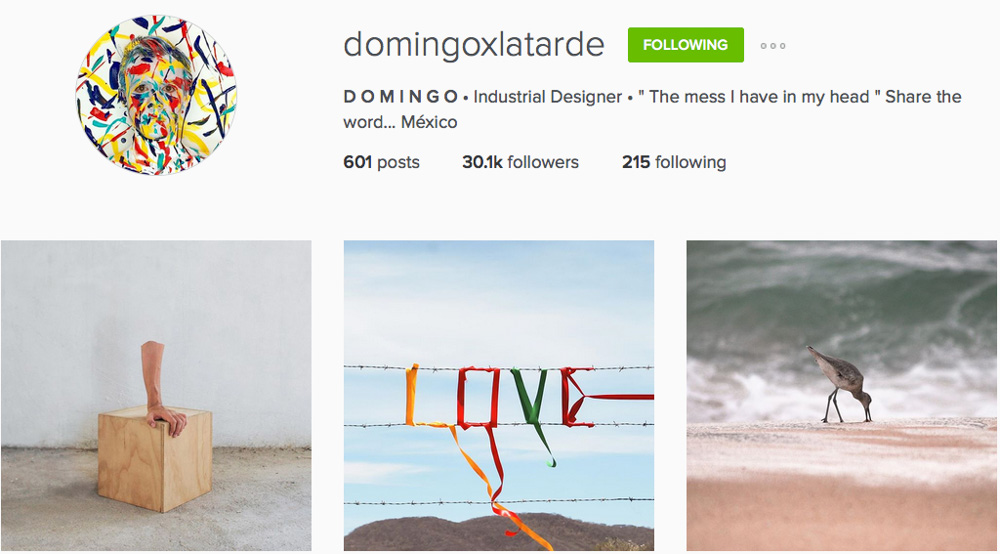 Instagram: @domingoxlatarde