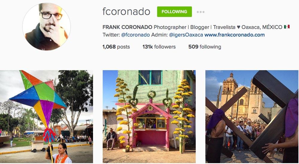 Instagram: @fcoronado