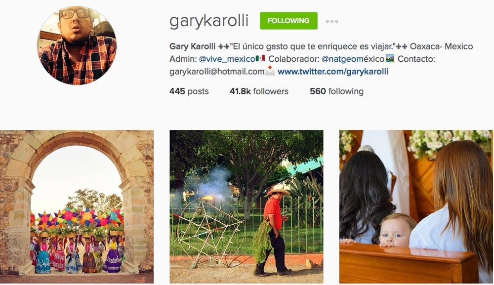 Instagram: @garykarolli