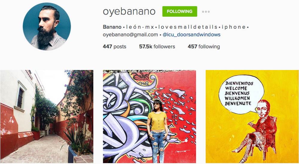 Instagram: @oyebanano