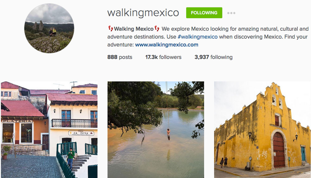 Instagram: @walkingmexico