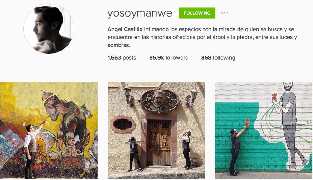 Instagram: @yosoymanwe