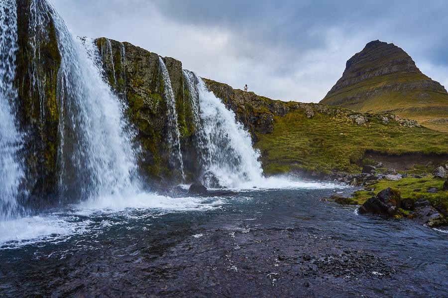Kirkjufellsfoss in the Snæfellsnes peninsula in Iceland