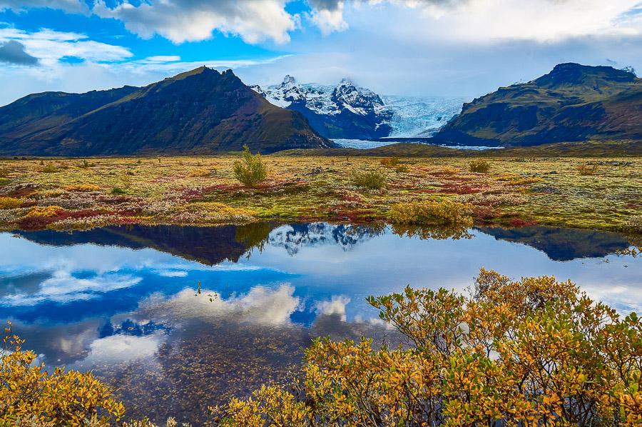 Skaftafell in Vatnajökull National Park, Iceland