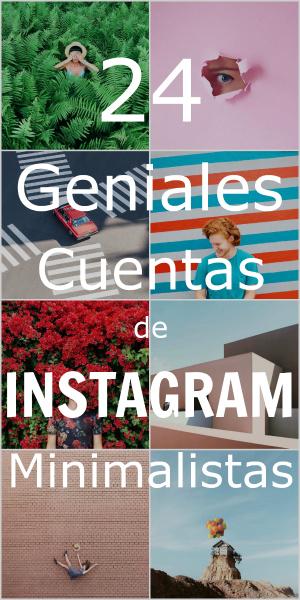 Cuentas Minimalistas de Instagram
