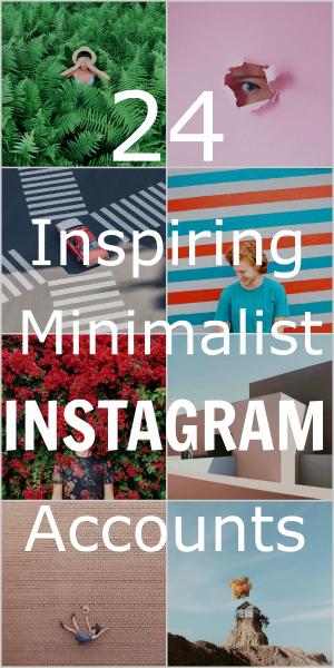 Pin: Minimalist Instagram Accounts