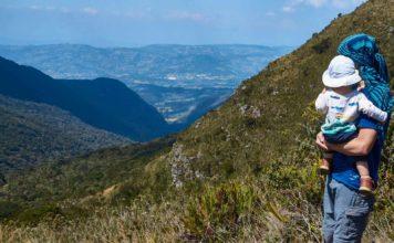 Admiring the View at the Santuario de Flora y Fauna Iguaque in Colombia