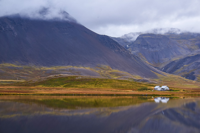 Perfect reflections in the Snæfellsnes peninsula, Iceland