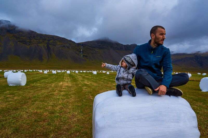 Enjoying the views in Iceland