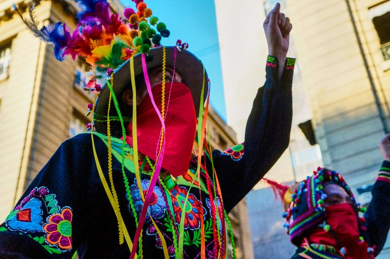 Fiesta de la Chakana in Santiago de Chile.