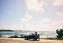 Exploring Cozumel, Mexico on a Jeep