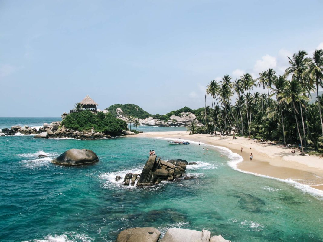 Cabo San Juan in Tayrona National Park, Colombia