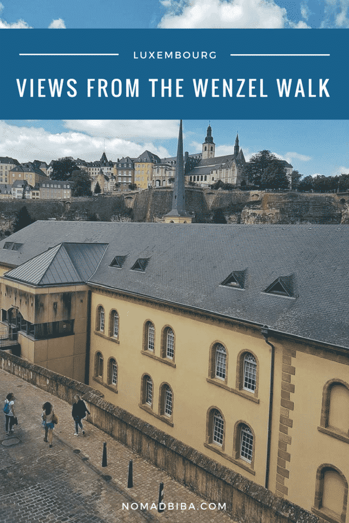 Luxembourg Wenzel Walk