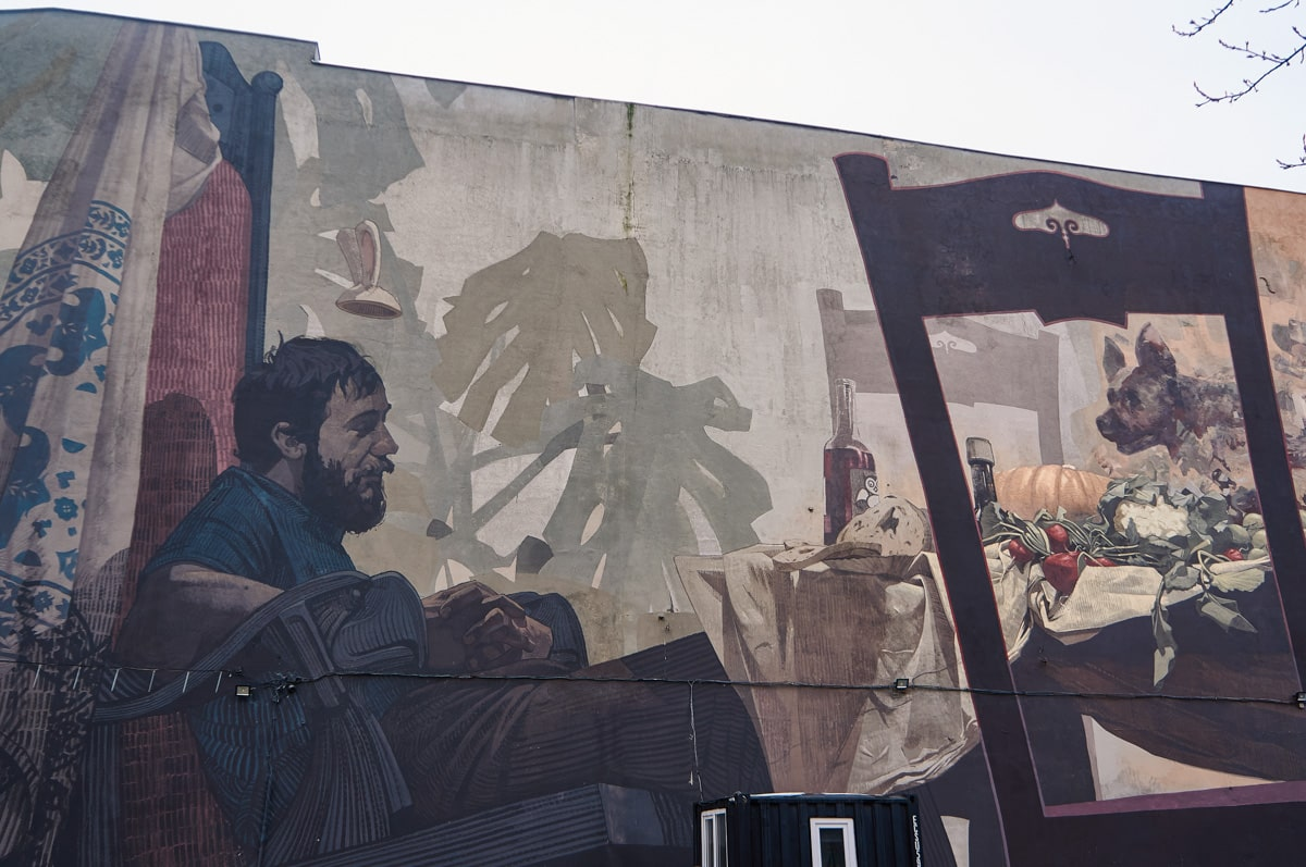 Enjoy the Silence mural by Etam Cru & Tone in Lodz, Poland