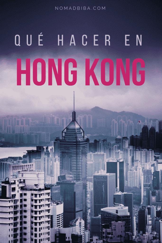 Pin - que hacer en Hong Kong